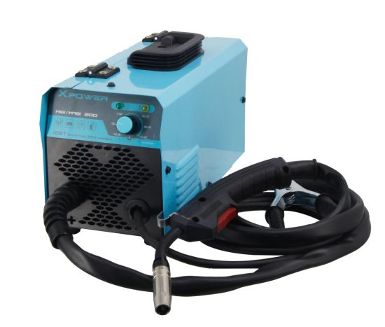 Mini Gasless MIG Mag Welding Machine with Flux Core Wire