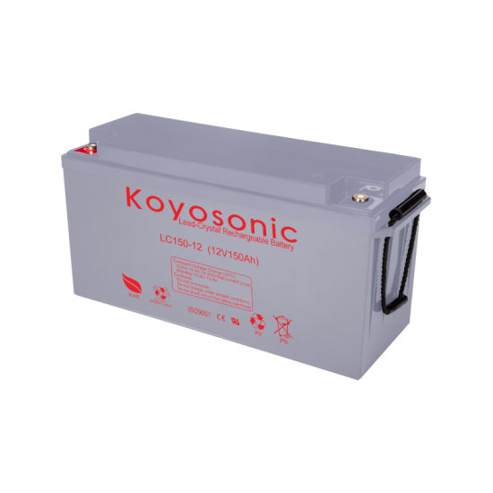 Factory Direct 12V 150ah Lead Crystal Battery Deep Cycle Battery