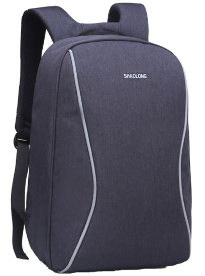 Waterproof Anti-Theft Computer Bag Day Pack USB Backpack Laptop Bag