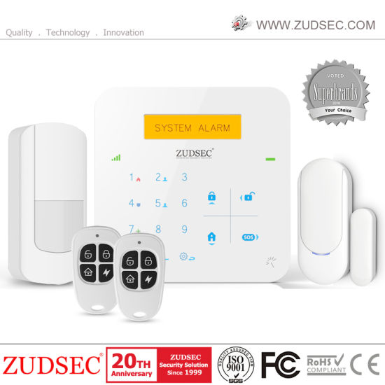 Wireless Home Alarm System GSM Intruder Alarm System with APP
