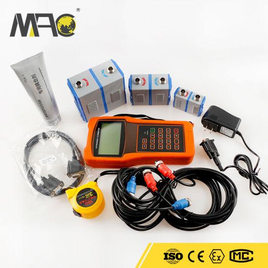 Macsensor Portable Hand-Held Ultrasonic Digital Flow Meter Velocity Tester