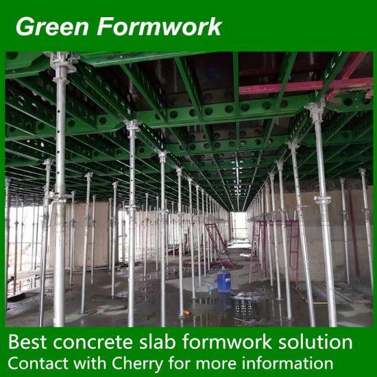 China Steel /Aluminium Quick Release Slab Formwork Green