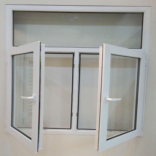Large UPVC Double Glazing Casement Window Price Australian Standards