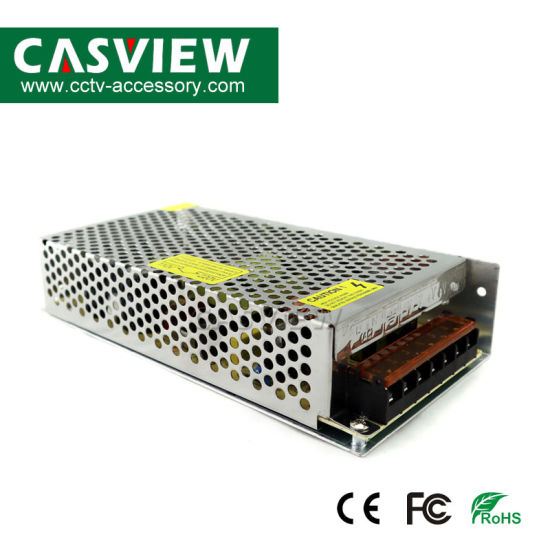 DC12V 10A 120W CCTV Power Supply CCTV Camera DVR Ce FCC 2year Warranty LED Strip System pictures & photos