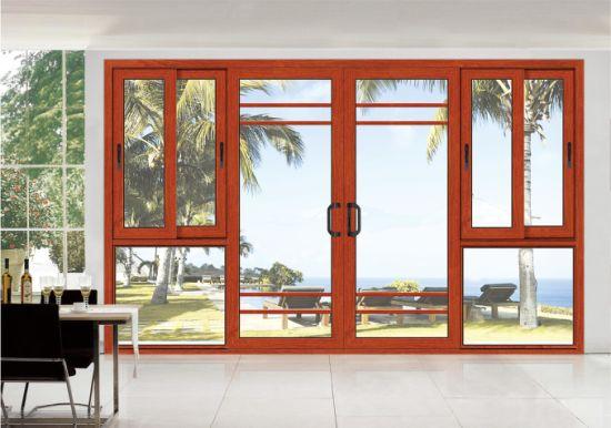 Top Hung Thermal Break Casement Alumunium Window