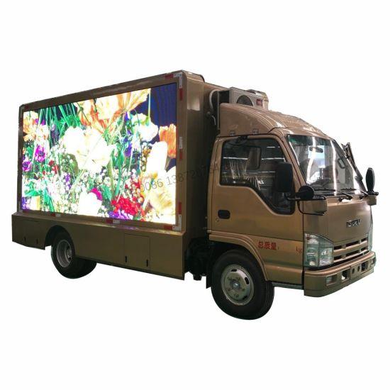 Isuzu Good Quality Mini P4 P5 P6 Full Color Mobile LED Advertising Truck Price for Sale