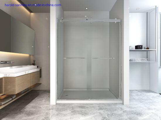 Economic Double Sliding Shower Door Easy Install Design