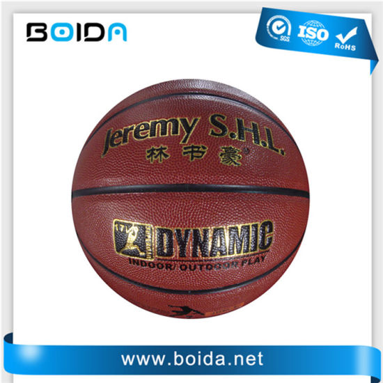 Promotional Waterproof PU PVC TPU Sport Rubber Basketball (B88500) pictures & photos