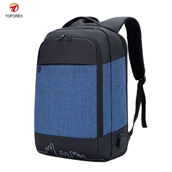 China Suppliers Wholesale USB Charging Travel Shoulder Bagpack Bag Fashion Sports Outdoor Laptop Backpack
