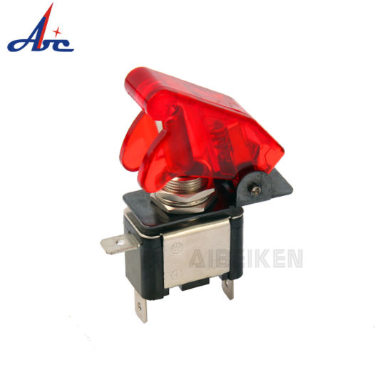 Automotive Car LED Illuminated on-off Safety 12V Toggle Switch