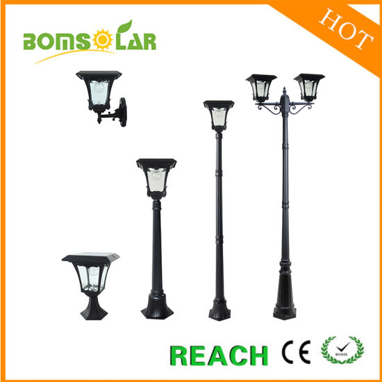 Solar LED Landscape Light Outdoor, Aluminium Solar Lamp Post for Patio