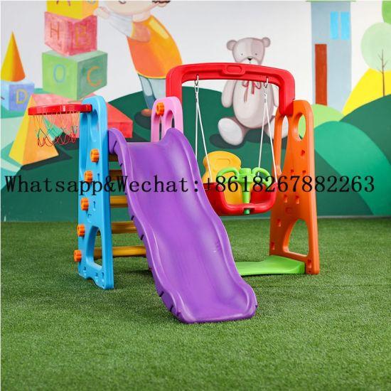 Indoor Backyard Plastic Play Set Kids, Plastic Playground Set