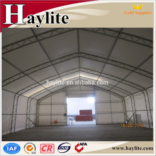Strong Large PVC 610GSM 900GSM Storage Tent Anti-UV Fire Resistant pictures & photos