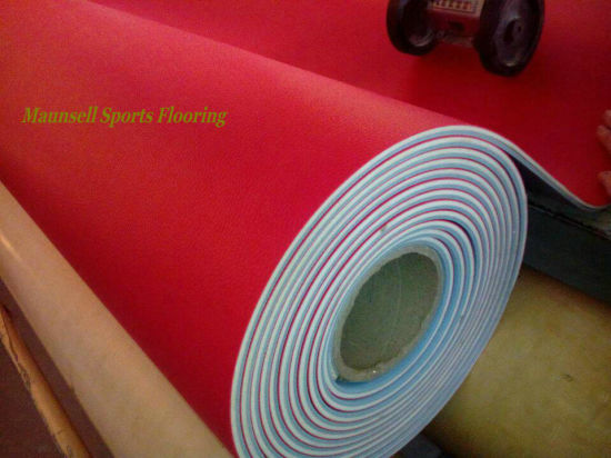 PVC Sports Floor for Table Tennis Courts 2018 Hot Sale pictures & photos