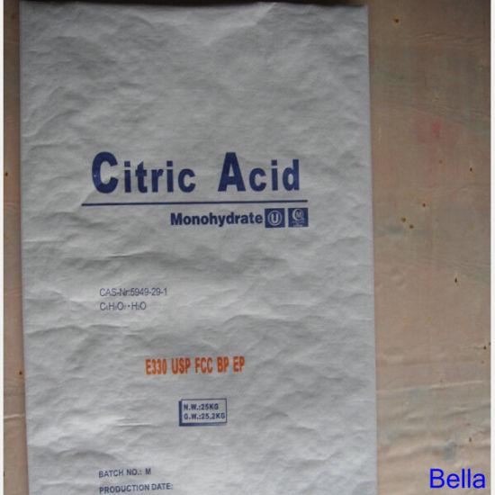 Food Grade, Industrial Grade Citric Acid Monohydrate 8-40 Mesh
