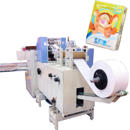 China Face Tissue Making Machinery Pocket Paper Packing