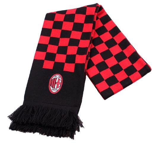 Sport Fan Acrylic Knitted Jacquard Soccer Football Scarf pictures & photos
