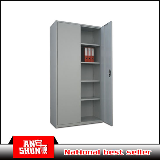 2 Door Book Storage Knock Down Steel Cupboard  sc 1 st  Luoyang Baorui Commercial Trading Co. Ltd. & China 2 Door Book Storage Knock Down Steel Cupboard - China Steel ...