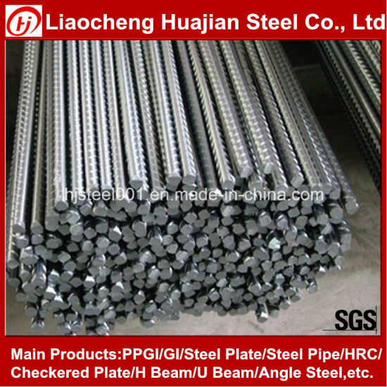 Hot Rolled Deformed Steel Bar for Construction pictures & photos