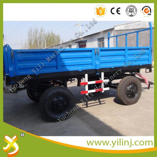 Robust Construct Farm Dump Trailer / Tractor Tipper Trailer pictures & photos