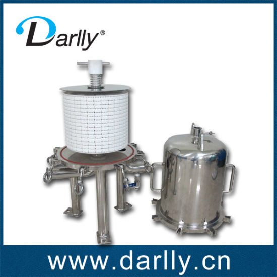 Particle Removal Depth-Stack Filter Cartridge