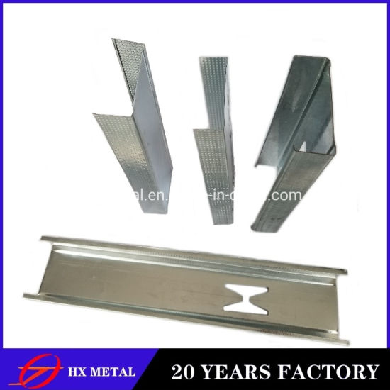 High Quality Anti-Corrosion New Building Material Wall Keel/Ceiling Keel Hot DIP Galvanized Light Gage Steel Joist for Decoration