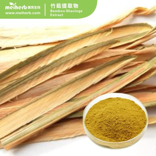 Factory Wholesale 10% 30% 50% Bamboo Shavings Extract/ Bamboo Leaf Extract