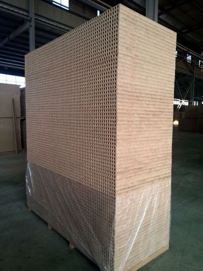 Factory-Hollow Chipboard and Particleboard in Size1180X2090X33mm/38mm pictures & photos