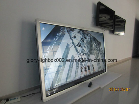 2015 New Model Exactly Slim Frame 42′′ Wall-Mounted Advertising Player pictures & photos