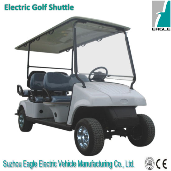 Electric Utility Car with The Rear Fixed Seat
