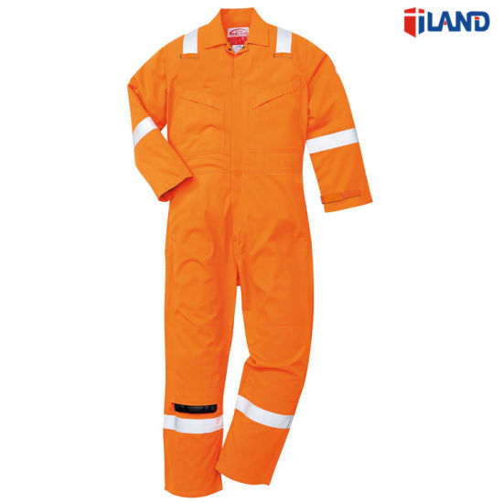 2edf5e7143 China Safety Uniform Cotton Workwear Coverall with Reflective Tape ...