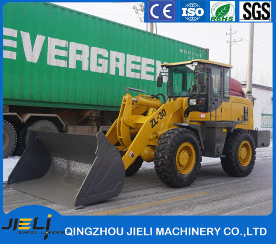 Ce Hydraulic Transmission Front End Zl30 Mini Wheel Loader (ZL936) with Rops pictures & photos