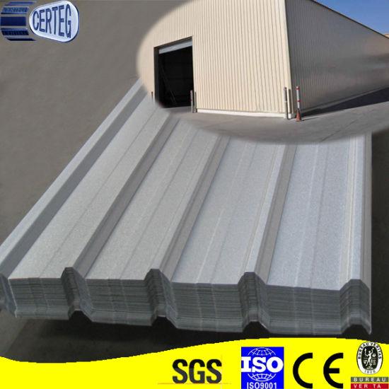 Prepainted Corrugated Galvalume Metal Sheet