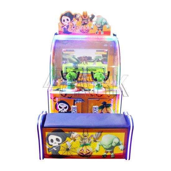 Amusement Park Electric Shot Ball Arcade Machine 2 Kids Play Video Games