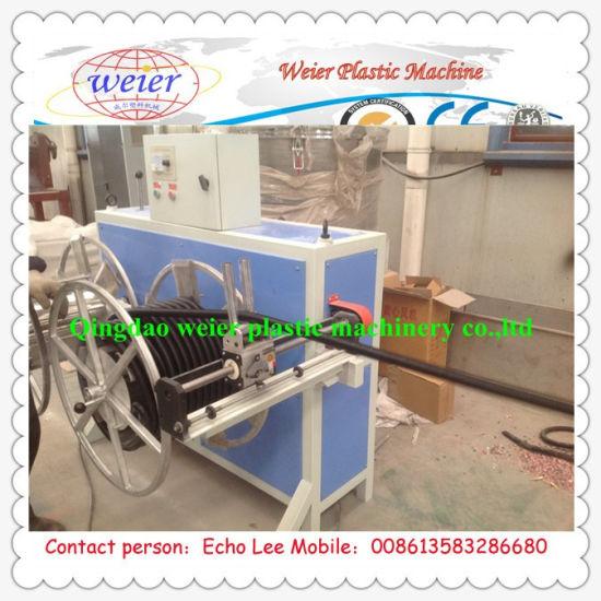 16--50mm 60--80kg/H PP PE PVC Single Wall Corrugated Pipe Machine
