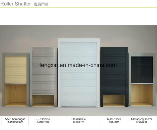 Roll Up Kitchen Cabinet Doors China Kitchen CabiRoller Shutter Door Remote Control/Automatic