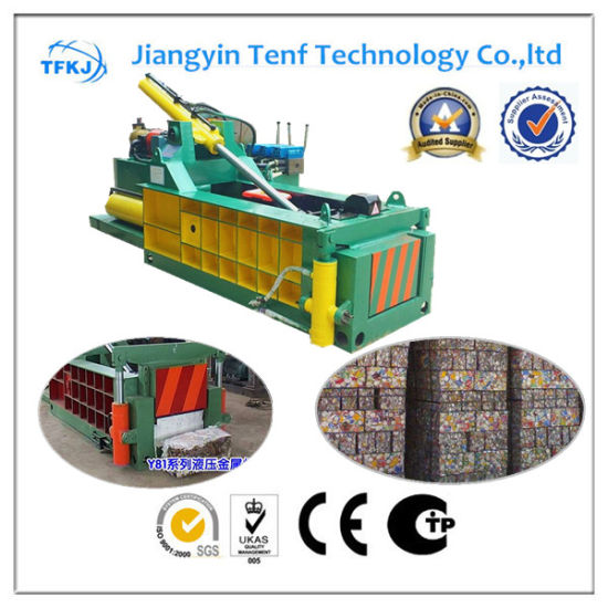 Forward out Hydraulic Scrap Metal Baler with CE Approved (Y81Q-1350)