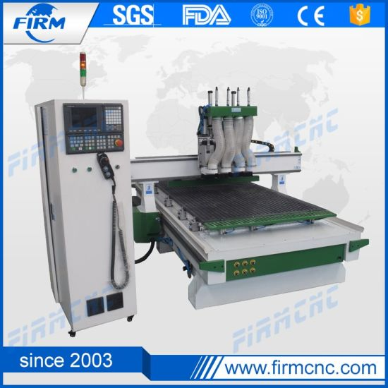 Auto Tool Changer CNC Router 4 Heads CNC Wood Machine pictures & photos