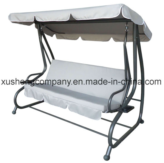 Steel Hanging Metal Frame Garden Swing Chair