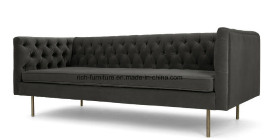 Modern Classic Hotel Fabric Reception Sofas