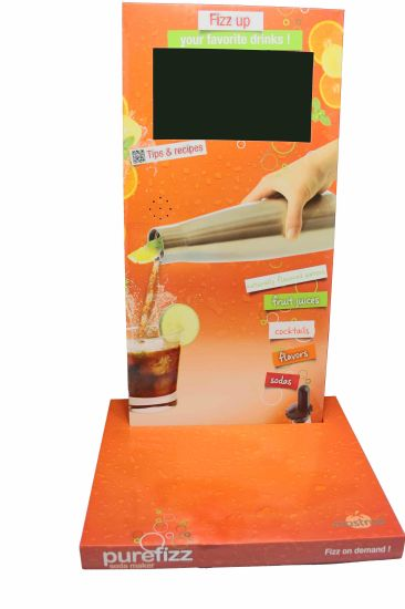 POS Digital Advertising Displayer with Printing Logo pictures & photos