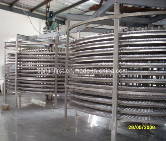Multiple Direction Seafood Double Spiral Freezer for Refrigerators in China pictures & photos