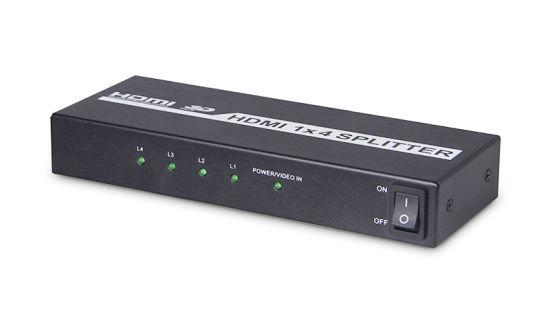 China 4k 1X4 HDMI Splitter (HDMI V1 4, 3D) - China Hdmi Splitter