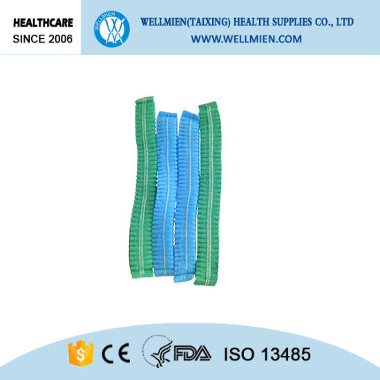 Disposable Nonwoven Bouffant Cap Medical Hair Cap pictures & photos