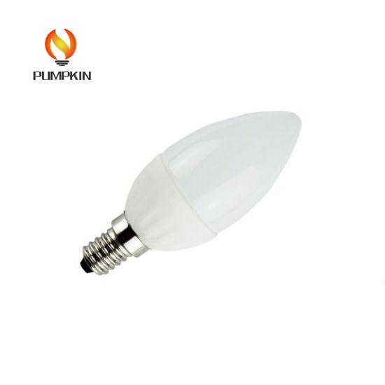 E14/E12 C37 4W LED Candle Bulb Light