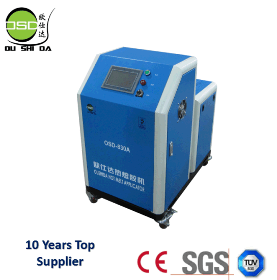 Large Capacity OSD-830 30L Portable Hot Melt Adhesive Labeling Machine pictures & photos