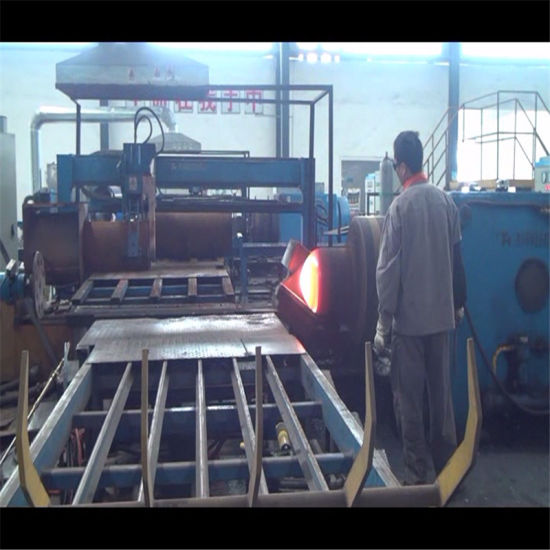 Big Sizes Seamless Gas Cylinder Mouth Forming Hot Spinning Machine