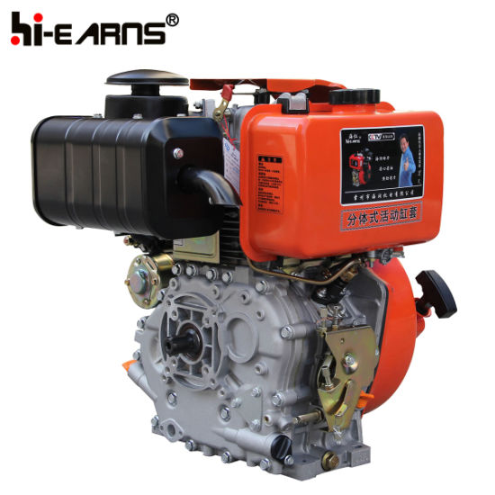 Air-Cooled Diesel Engine Luxury Type Spline Shaft Electric Start (HR188FAE) pictures & photos