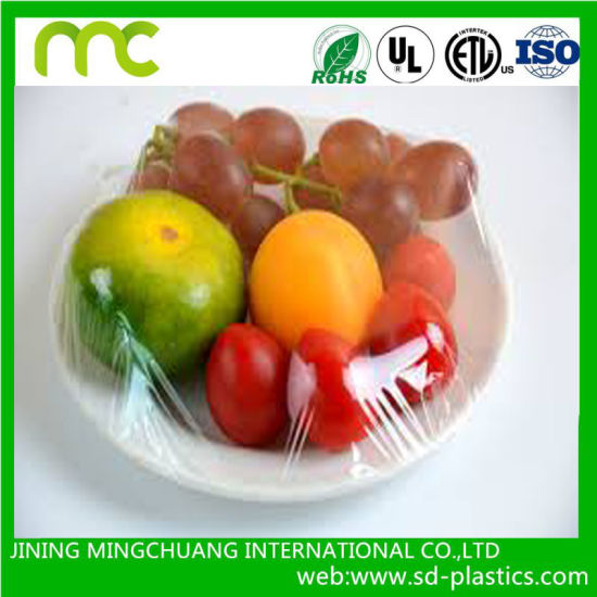China Manufacturer Wholesale Plastic Wrap PVC Cling Film for Food