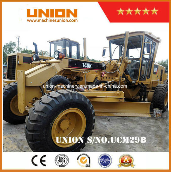 Used Cat 140K Motor Grader Wheeled Grader/Caterpillar 140g Grader (14G 140G  140H) with Ripper
